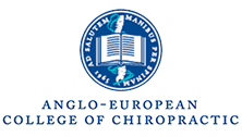 Anglo-European College of Chiropractic Logo Link